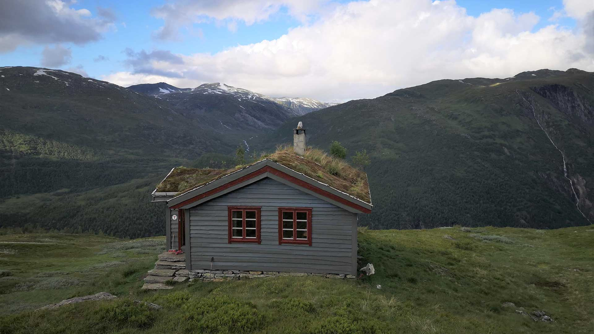 Hytte i fjellet