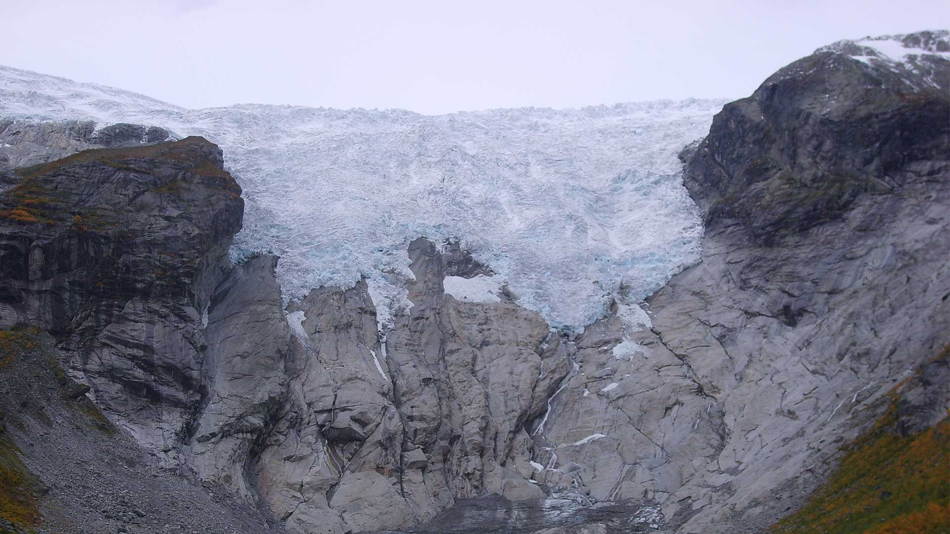 Bergsetbreen fotografert i 2008