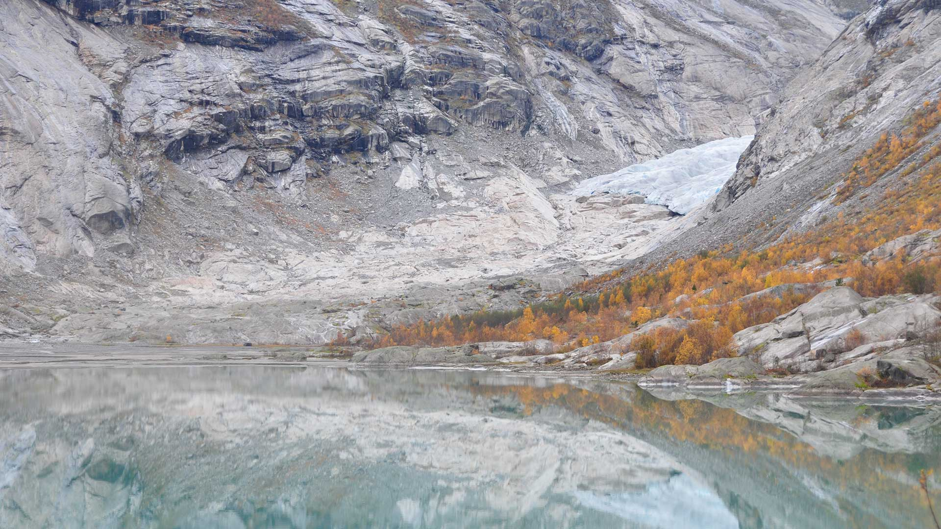 Nigardsbreen i 2018