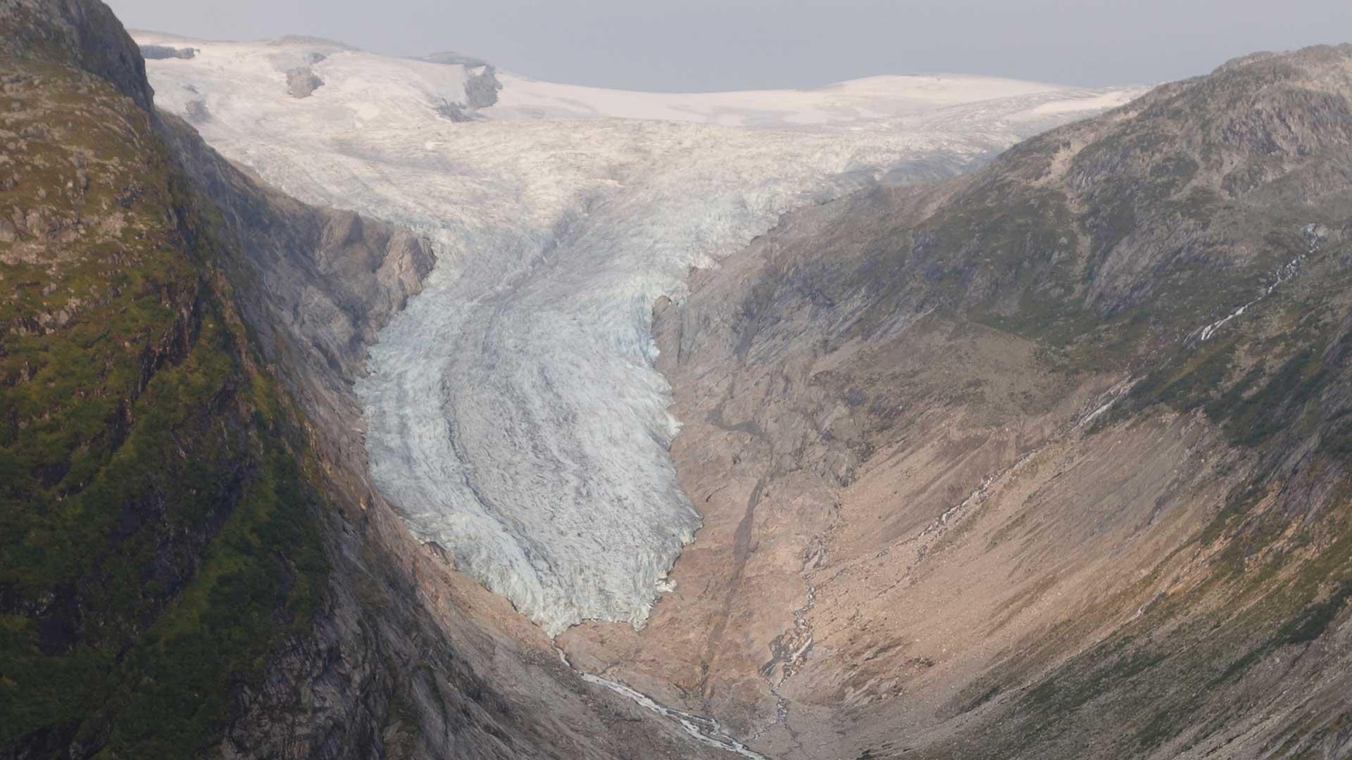Fagerstølsbreen i 2019